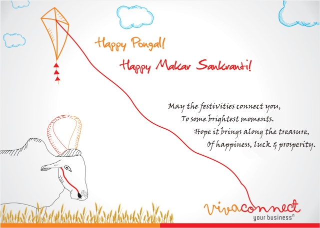 VivaConnect wishes all a Happy Makar Sankranti & Pongal